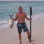 beach catch
