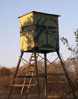 deer blind tower
